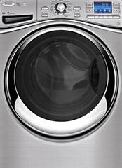 Elöltöltős mosógép, a mosógép szerelő illusztrációs képe.