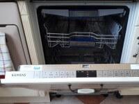 Siemens mosogatógép, az ajtó húzókötelének cseréje után