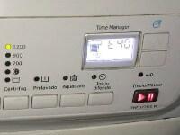 AEG mosógép E40 és E41 hibajelzés leírása