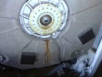 Felültöltős Electrolux mosógép csapágy hiba